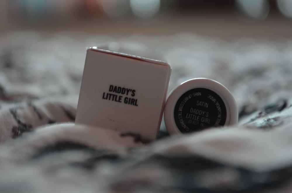 MAC Archie's Girls Collection - Daddy's Little Girl lipstick review (3/6)