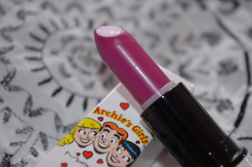 MAC Archie's Girls Collection - Daddy's Little Girl lipstick review (5/6)