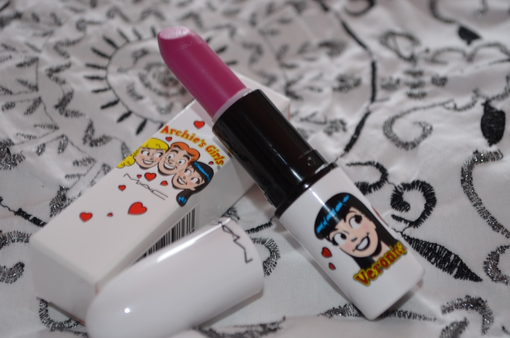 MAC Archie's Girls Collection - Daddy's Little Girl lipstick review (4/6)