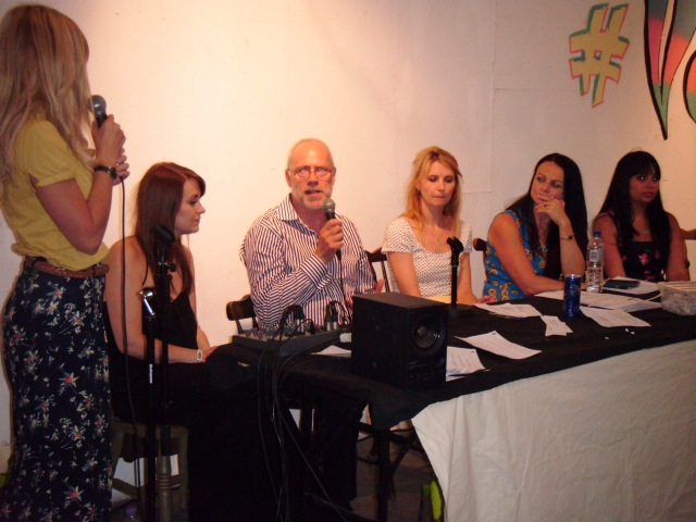 The panel who answered people's Q&A's. Clothes Show Live, Macadamia Oil, Style Birmingham Magazine, and others.